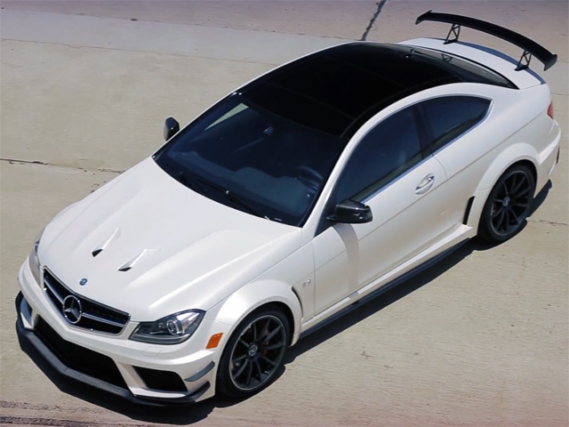 AMG Mercedes C63 Black Series
