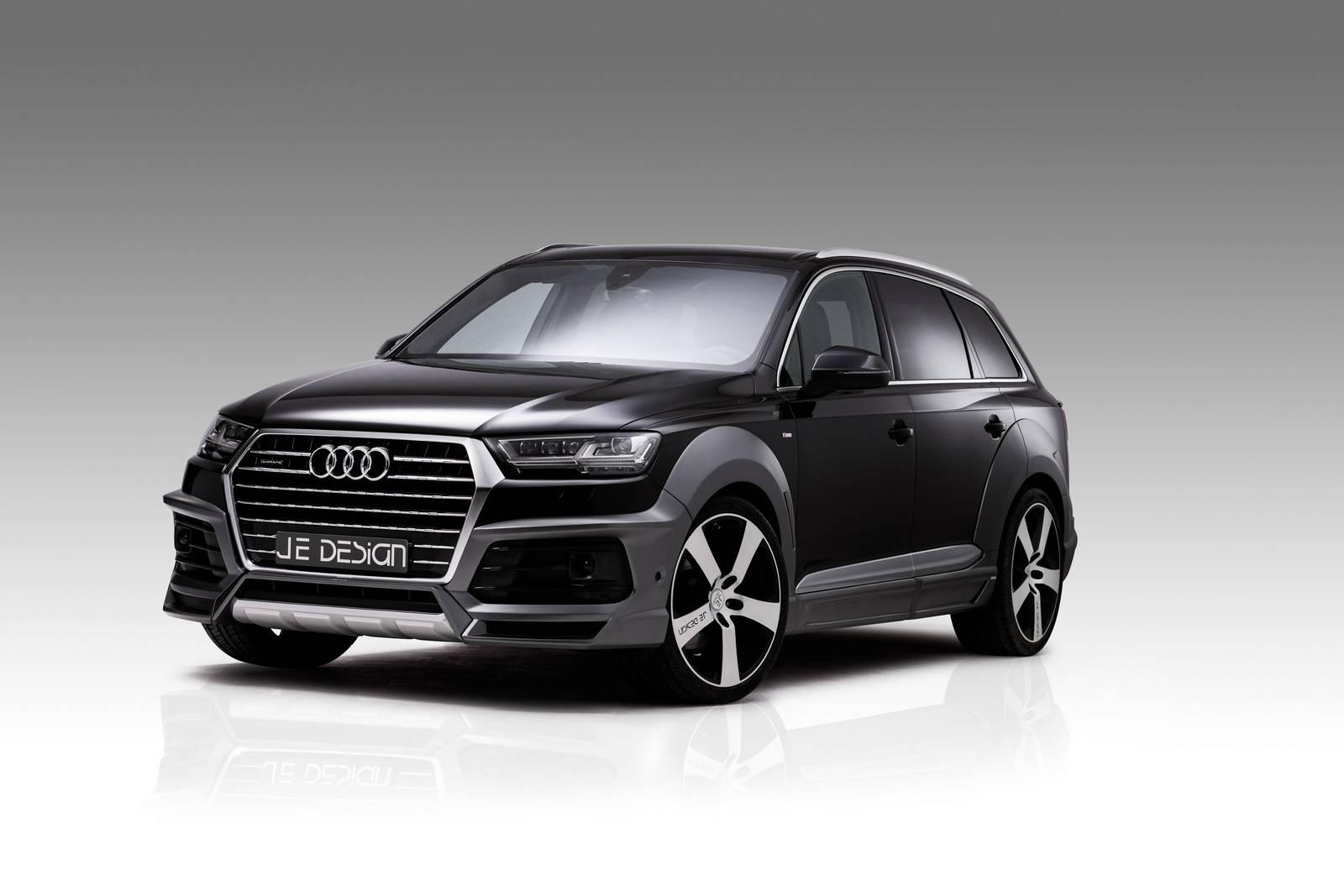 Audi SQ7 и Q7 Widebody от JE Design