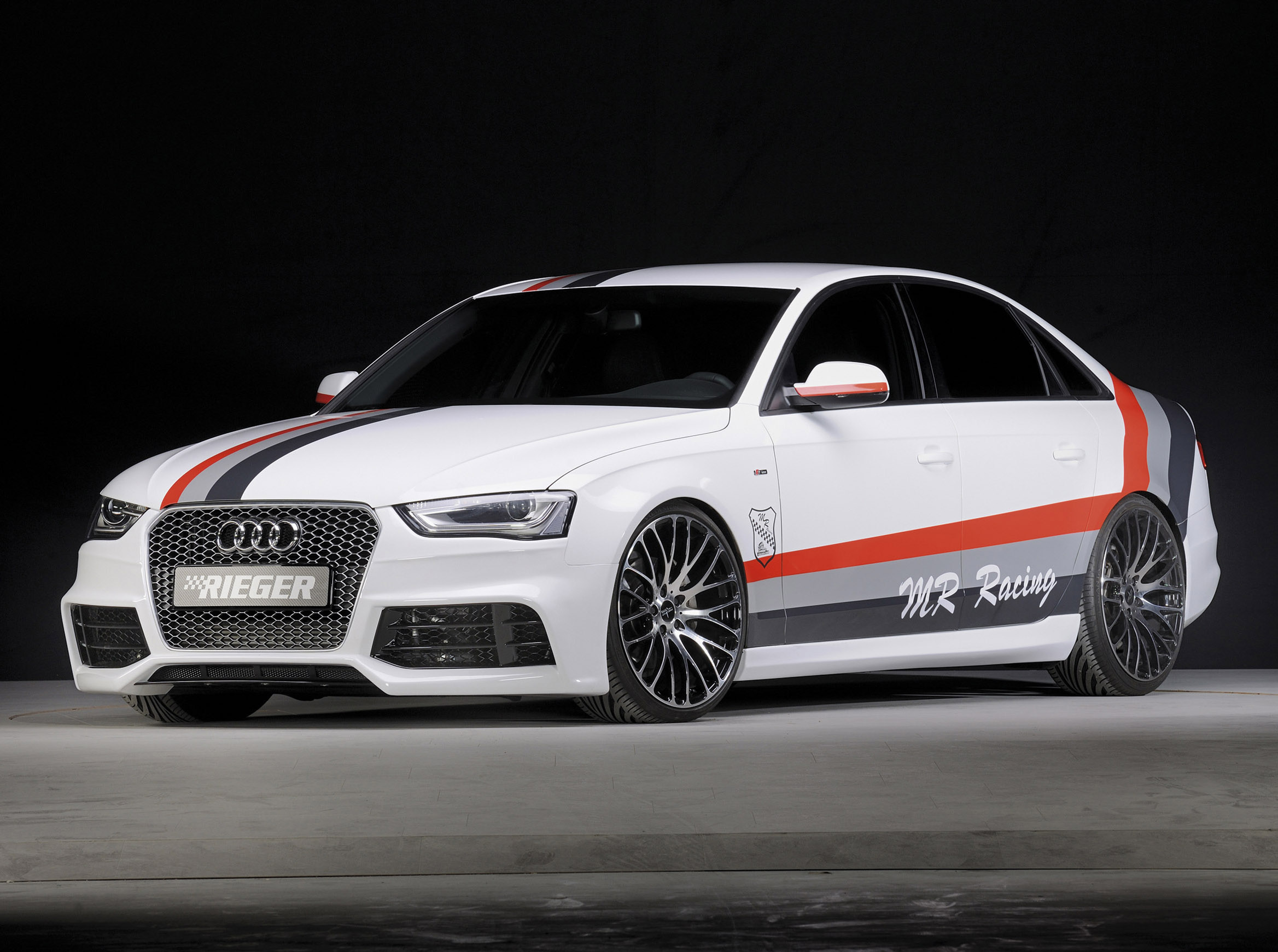 Audi A4 B8 2013 от тюнинг-ателье Rieger