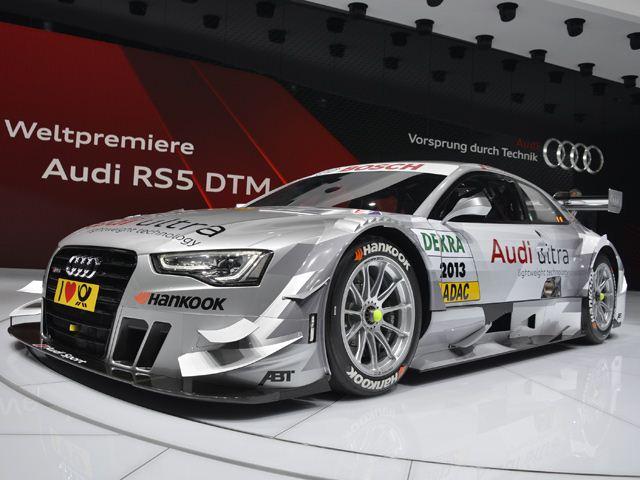 Женевский Автосалон-2013: Audi RS5 DTM