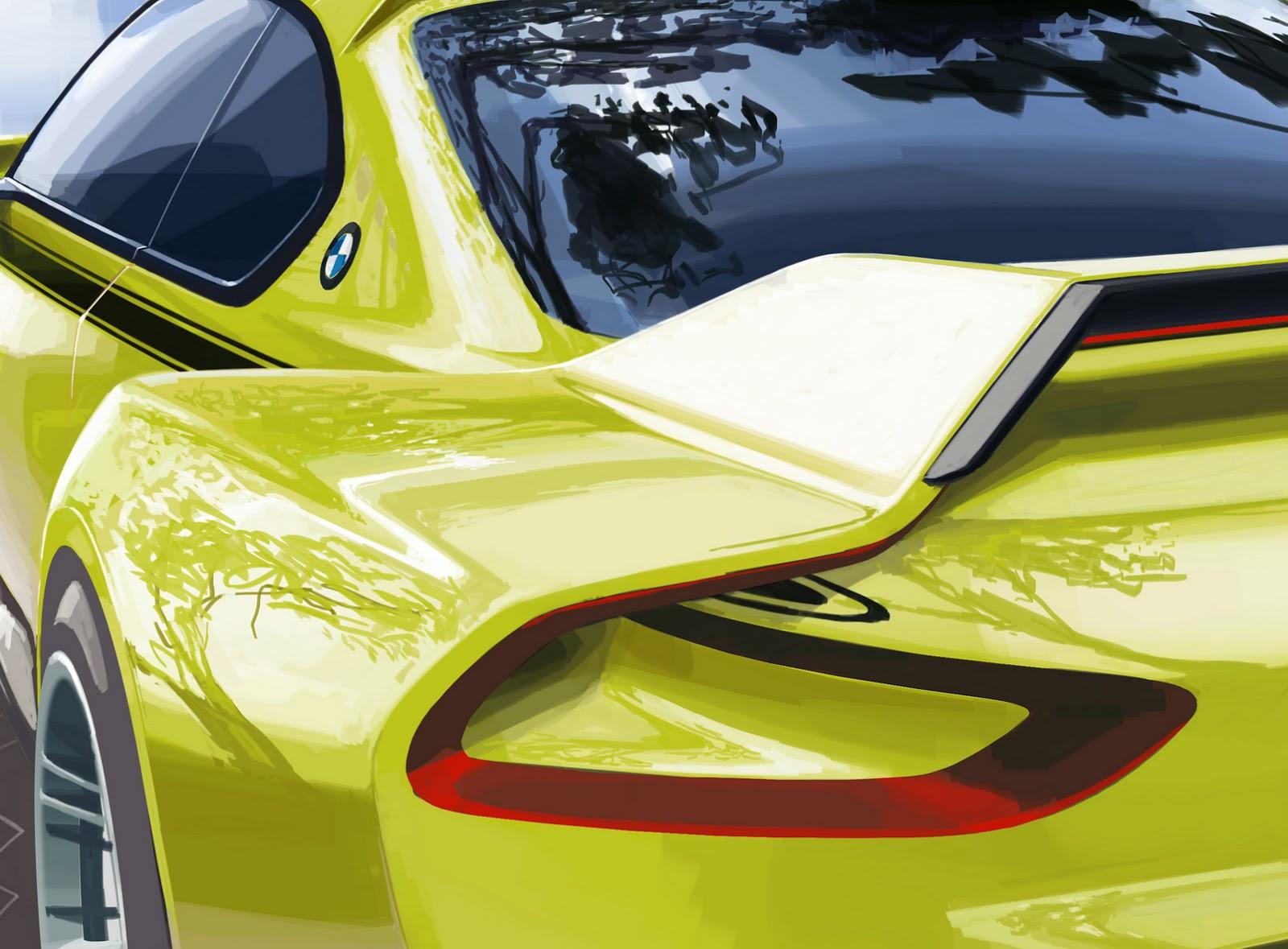 BMW 3.0 CSL Hommage Concept дебютирует на Villa d'Este 2015