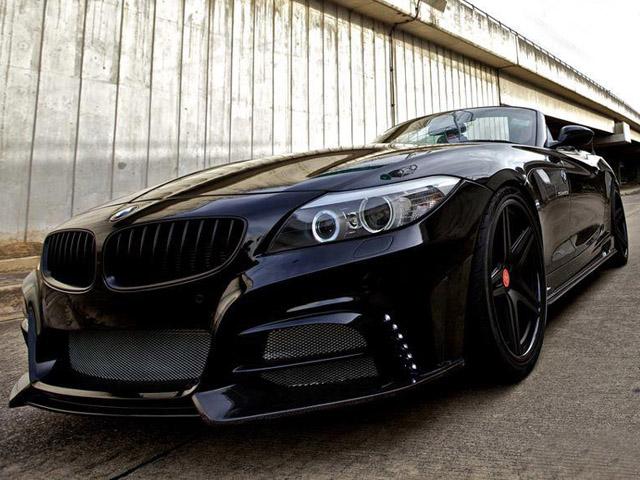 Черный BMW Z4 от Redline Auto
