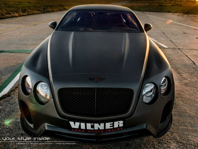 Тюнинг Bentley Continental GT от Vilner