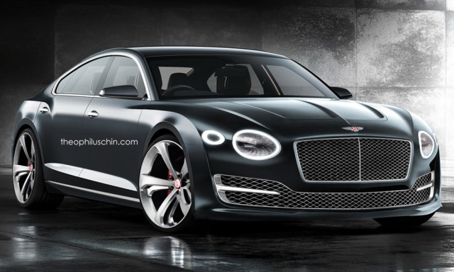 Четырехдверное купе Bentley