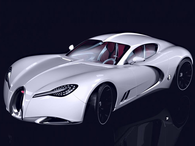 Bugatti Gangloff Concept, вдохновленный Type 57 Atalante