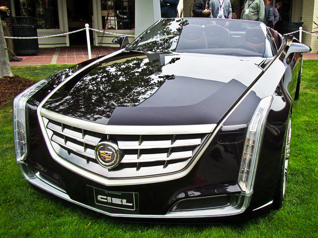 Убийца BMW? Cadillac CIEL