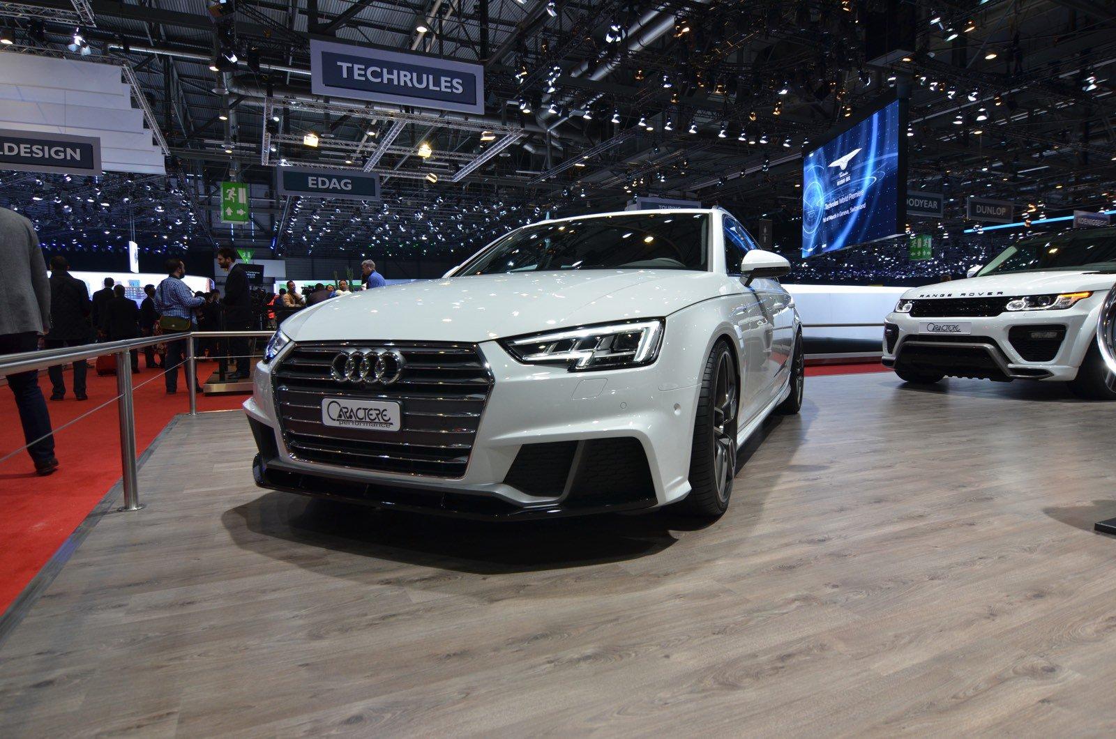 Женева-2016 - Caractere Exclusive Audi A4 Avant