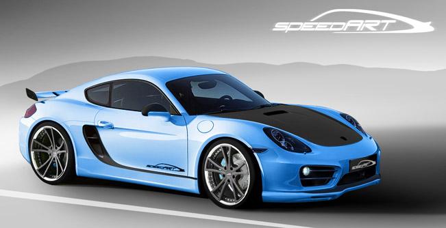 Porsche Cayman SP81 от тюнинг-ателье SpeedArt