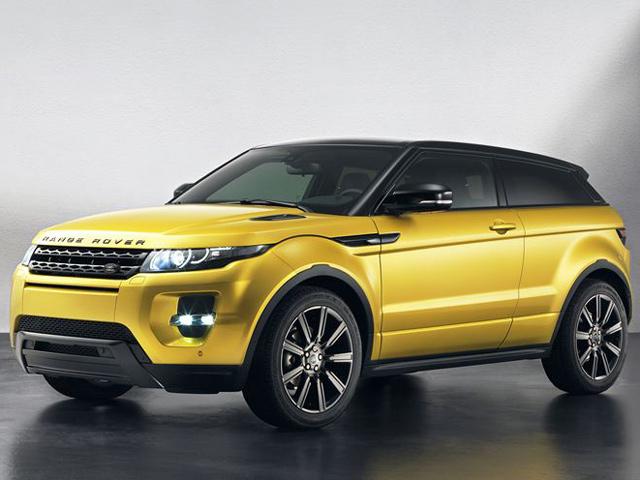 Range Rover представил Evoque Sicilian Yellow Edition