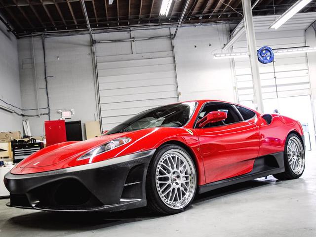 DMC начали работу над проектом F430 Scuderia