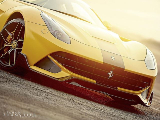 Тюнинг-ателье DMC представило Ferrari F12 SPIA Middle East Edition