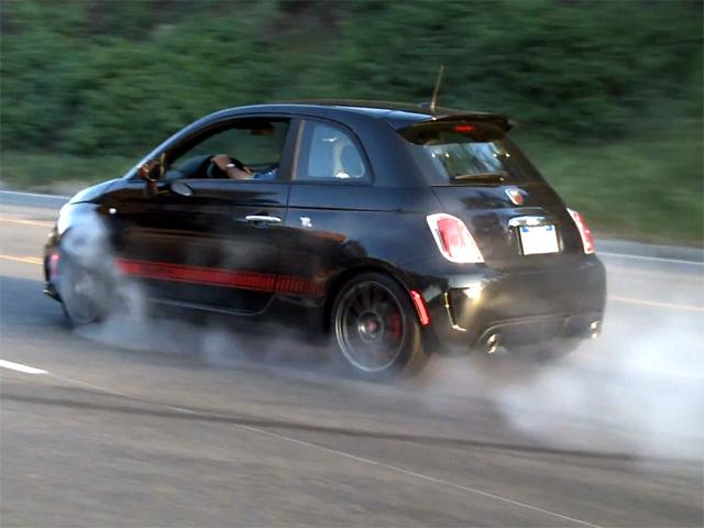Бешеный Fiat 500 Abarth