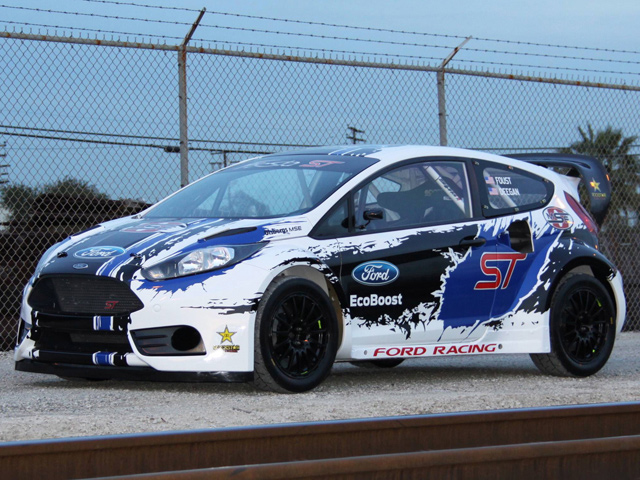 Ford представил Fiesta ST Rally Car