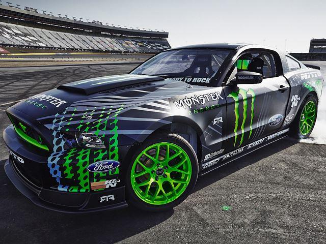 Новый Mustang RTR для гонщика Вон Гиттинга младшего.