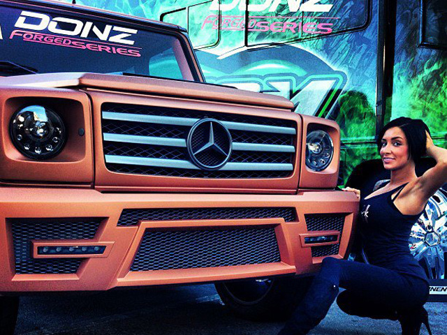 G55 AMG Copper Edition от AKA