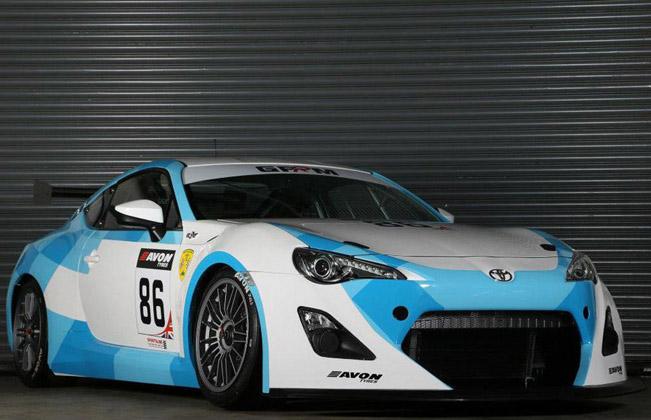 Toyota GT86 GT4 готов к гонкам