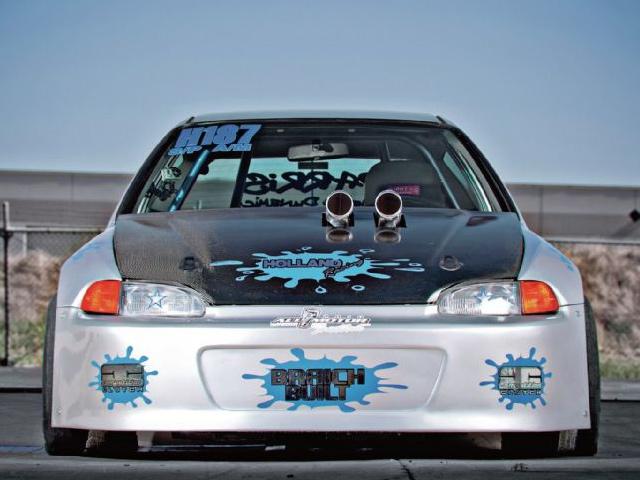 Японские иконы тюнинга: Honda Civic
