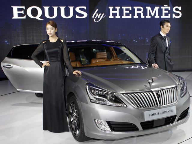 Hyundai представил Equus от Hermes