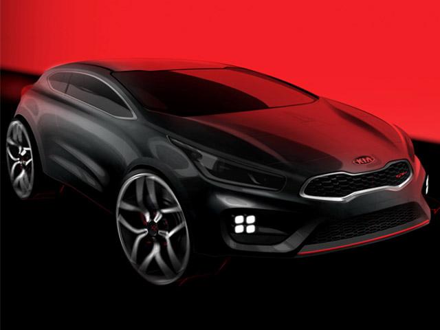 Kia представил официальные рендеры Pro_Cee'd GT