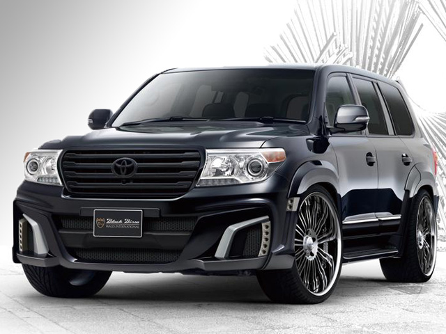 Тюнинг Toyota Land Cruiser Black Bison от Wald Int'l