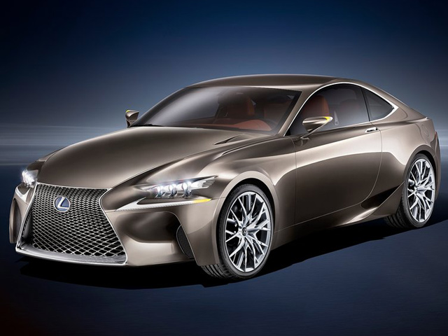 Lexus зарегистрировал название новой RC F