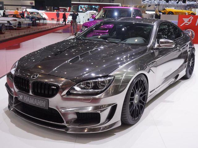 Женевский Автосалон-2013: Тюнинг BMW M6 Mirr6r от Hamman