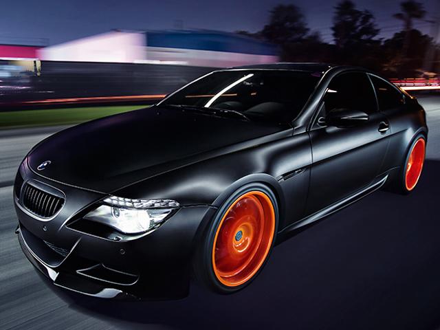 BMW M6 готов к Хэллоуину