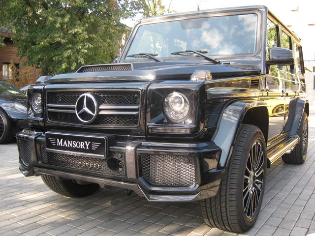 Mercedes-Benz G63 AMG Limited Russia от Mansory