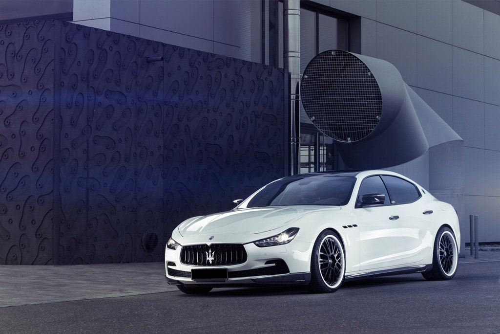 Maserati Ghibli от тюнинг-ателье HS Motorsport