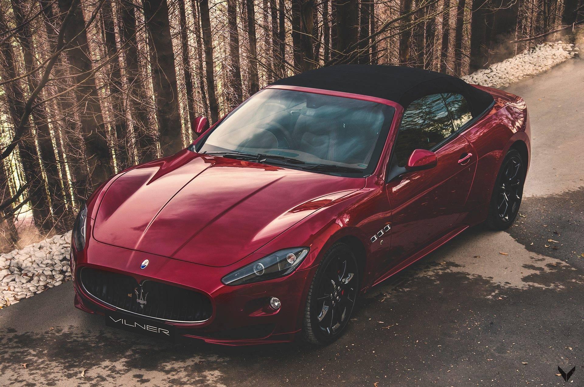 Maserati GranCabrio Sport с интерьером от Vilner