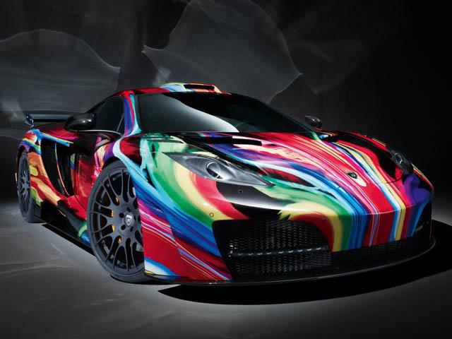 Hamann сделал McLaren 12С Art Car
