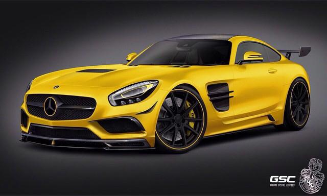 Тюнинг Mercedes AMG GT от German Special Customs