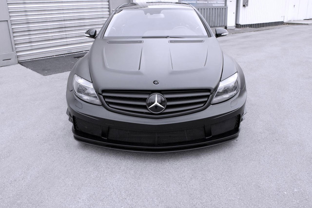 Тюнинг Mercedes Benz CL500 Black Matte Edition от Famous Parts
