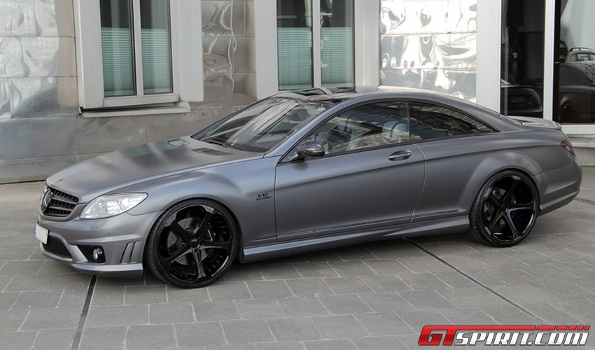 Тюнинг Mercedes Benz CL65 AMG Special Grey Stone Edition от Anderson Germany