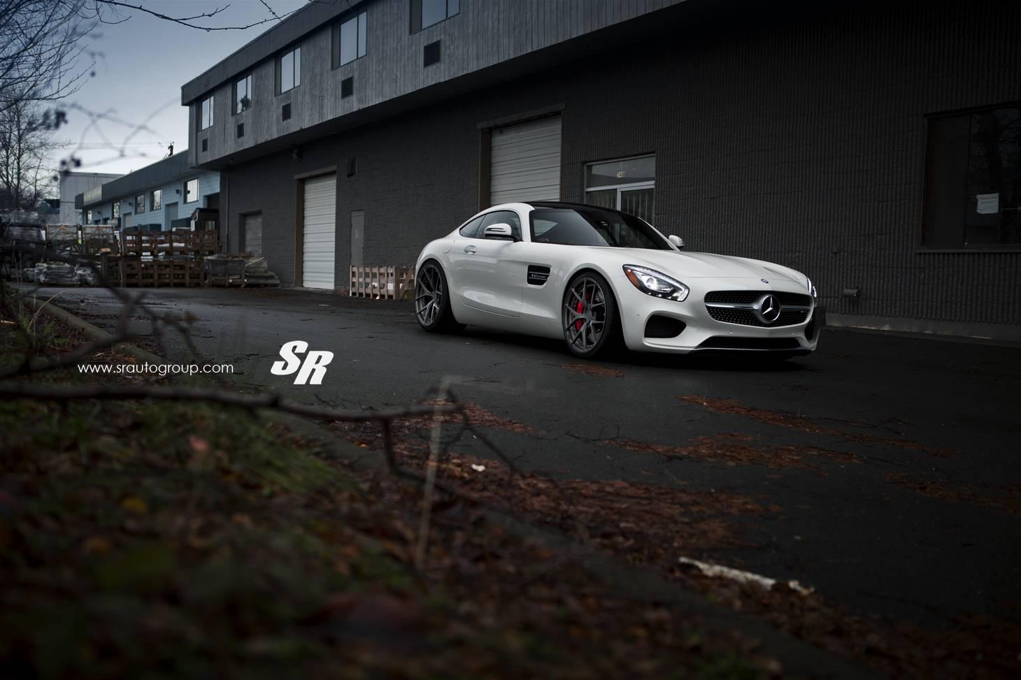 Mercedes-AMG GT на дисках PUR от SR Auto Group