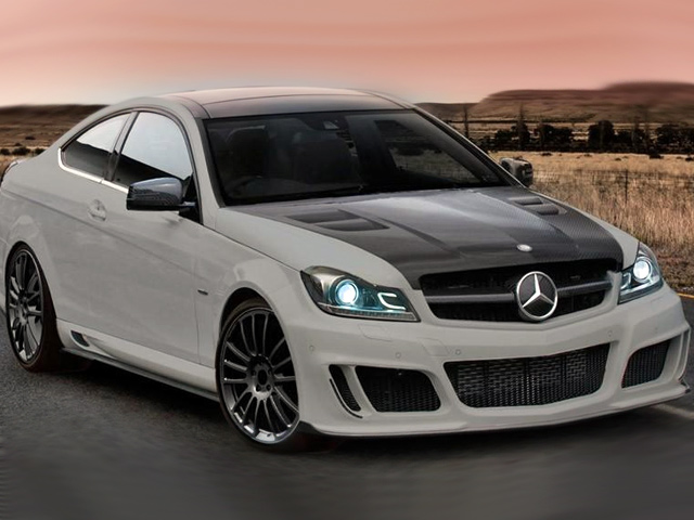 Mercedes Coupe C-класса от Mansory