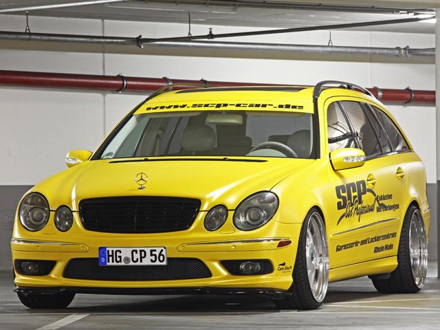 Mercedes-Benz E-class от SCP
