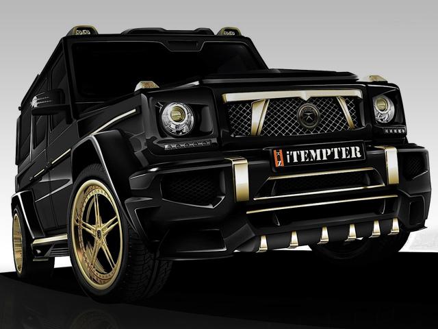 Mercedes G-Class iTemper от тюнинг-ателье Dartz