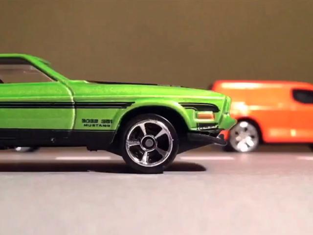 Игрушечная погоня от Matchbox Car