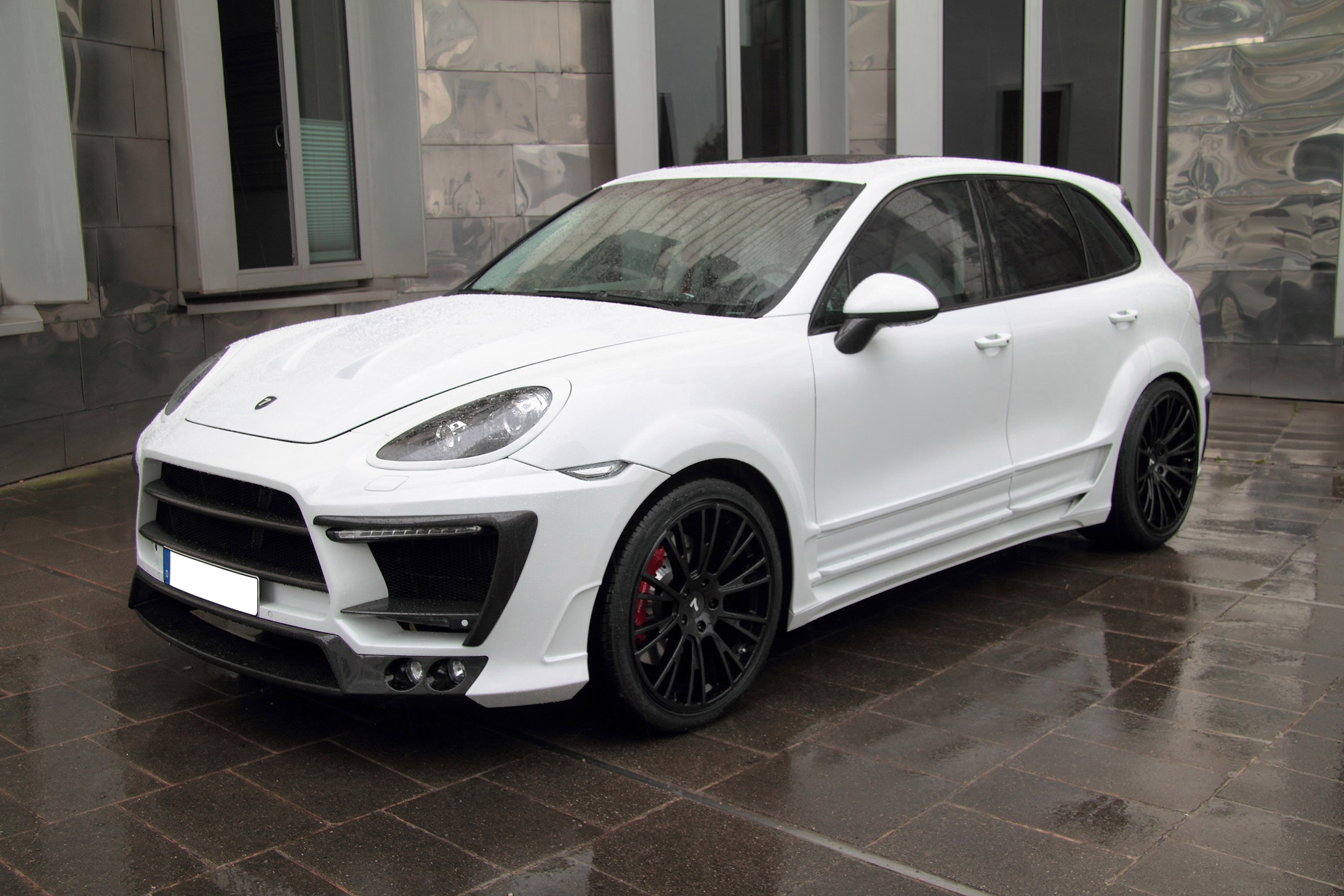 Porsche Cayenne II White Dream Edition от тюнинг-ателье Anderson Germany