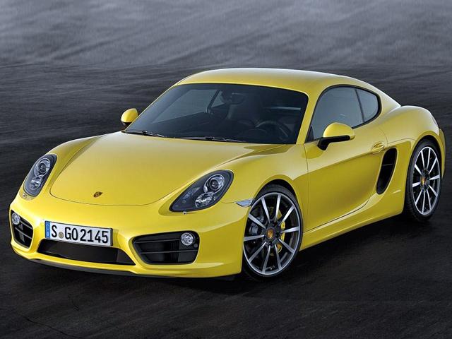 Демо-видео нового Porsche Cayman