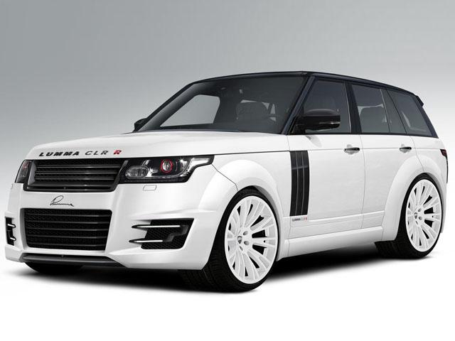 Range Rover от тюнинг-ателье Lumma Design