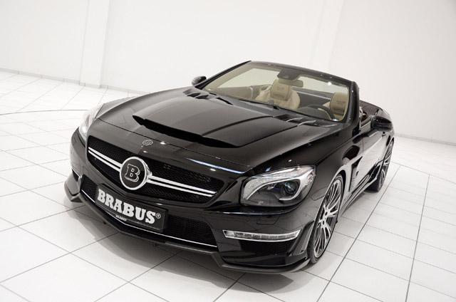 Brabus 800 Roadster – 800-сильный  Mercedes SL65 AMG