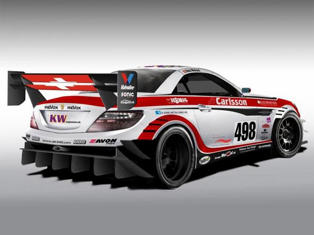 Тюнинг-ателье Carlsson анонсировало SLK 340 Racecar