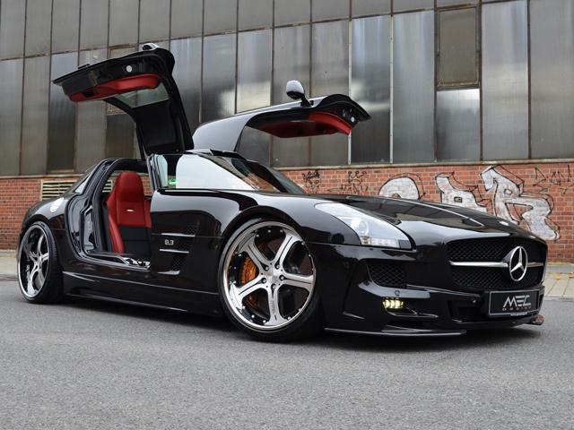 Mercedes SLS AMG  от MEC Design