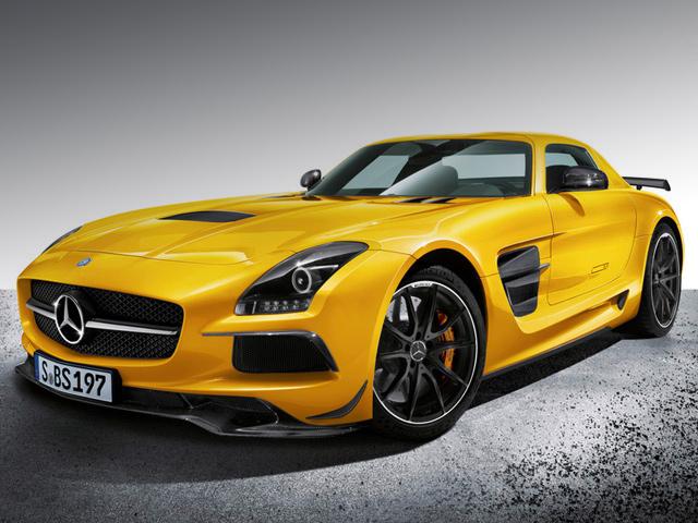 Mercedes представил SLS Black Series