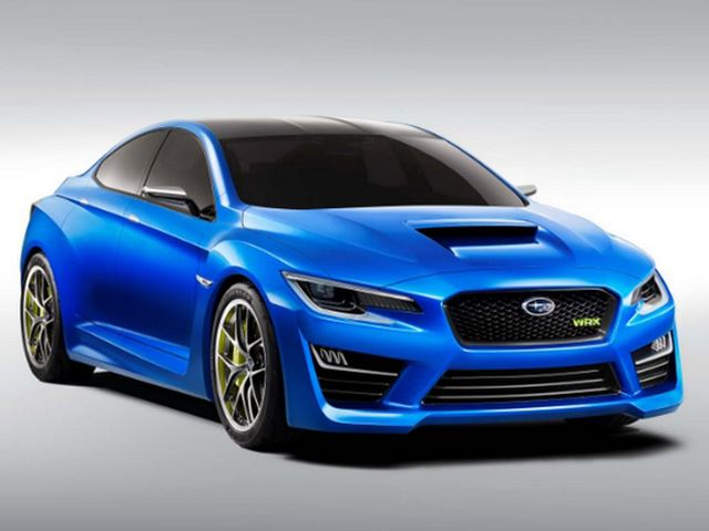 Первые изображения Subaru WRX Concept