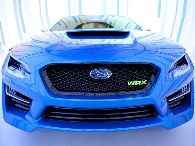 Subaru представил WRX Concept в Нью-Йорке