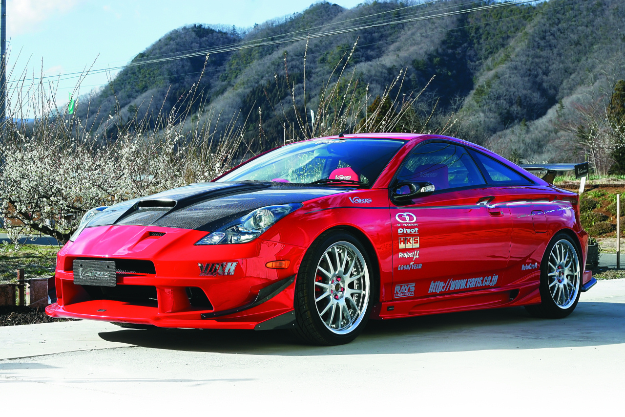 Японские иконы тюнинга: Toyota Celica