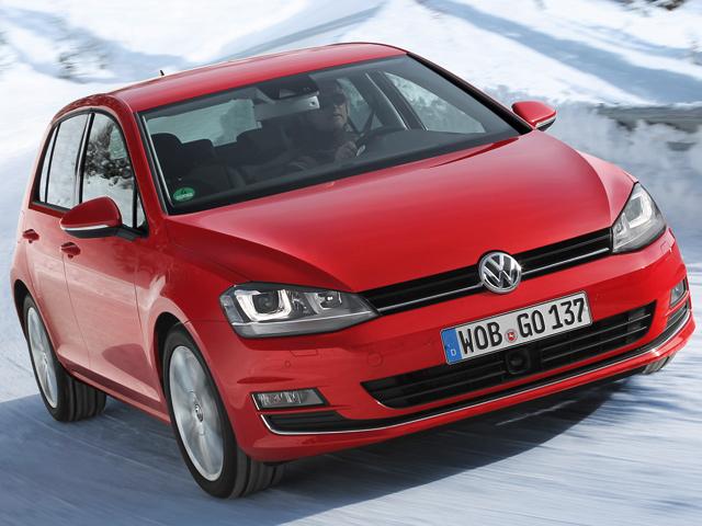 VW представил Golf 4Motion